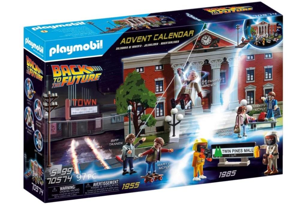 kids playmobil back to the future advent calendar