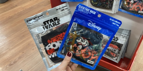 Kids & Adult Cloth Face Masks Only $4.97 at Walmart | Disney, Christmas, & More