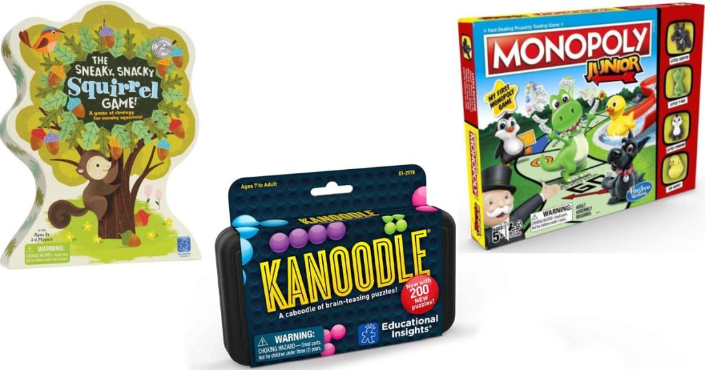 three kids games