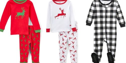 Baby and Kids Pajamas & Robes from $8.99 on Zulily.com (Regularly $23) | Includes Cute Holiday Styles