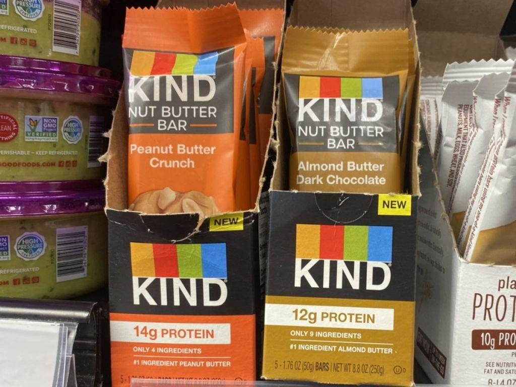 Kind Nut Butter Bars