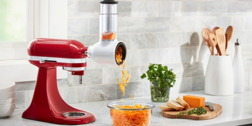 KitchenAid Slicer/Shredder Attachment Just $29.99 Shipped (Regularly $50) | Up to 45% Off Grinder, Spiralizer & More!