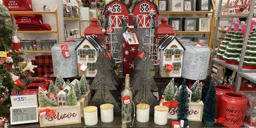 Christmas Decor & Home Goods from $8 + Free Shipping for Select Kohl's Cardholders