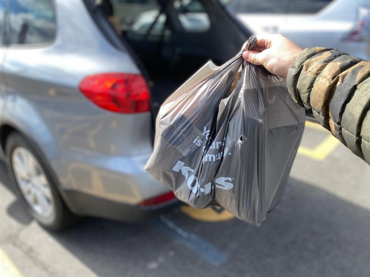 kohl's curbside pickup