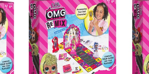 L.O.L. Surprise! O.M.G. Remix We So Rockin' Board Game Just $7.49 on Amazon (Regularly $15)