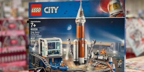 LEGO City Deep Space Rocket Only $79.99 Shipped on Amazon or Target.com (Regularly $100)