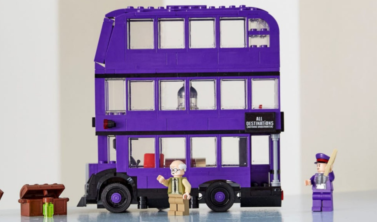 LEGO Harry Potter Knight Bus assembled