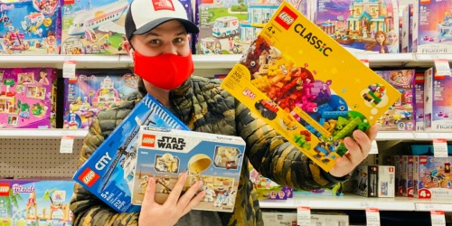 FREE $10 Target Gift Card w/ $50 LEGO Purchase | In-store & Online
