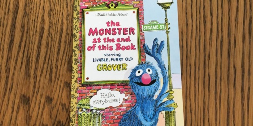 HURRY! The Monster at the End of This Book ONLY $1.18 on Amazon | Lowest Price Ever!