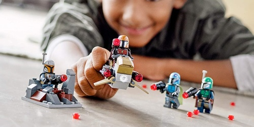 LEGO Star Wars Mandalorian 102-Piece Building Kit Only $11.99 on Amazon