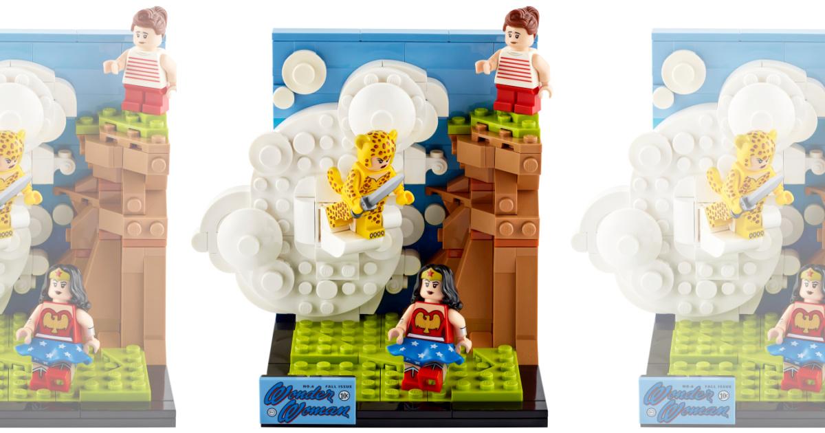 LEGO DC Wonder Woman 77906 Building Toy