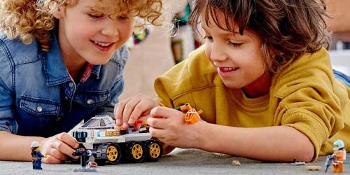 LEGO City Space Rover 202-Piece Building Kit Just $17.95 on Amazon (Regularly $30)