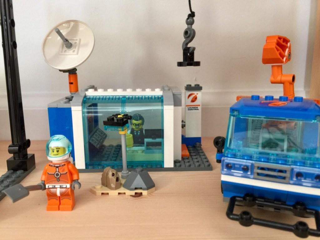 LEGOs built and set up