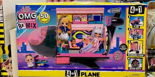 L.O.L. Surprise! 4-in-1 Plane Playset as Low as $48.74 Shipped on Target.com (Regularly $90)