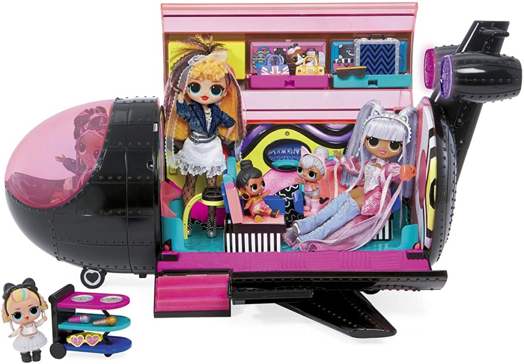 LOL Surprise Plane with dolls