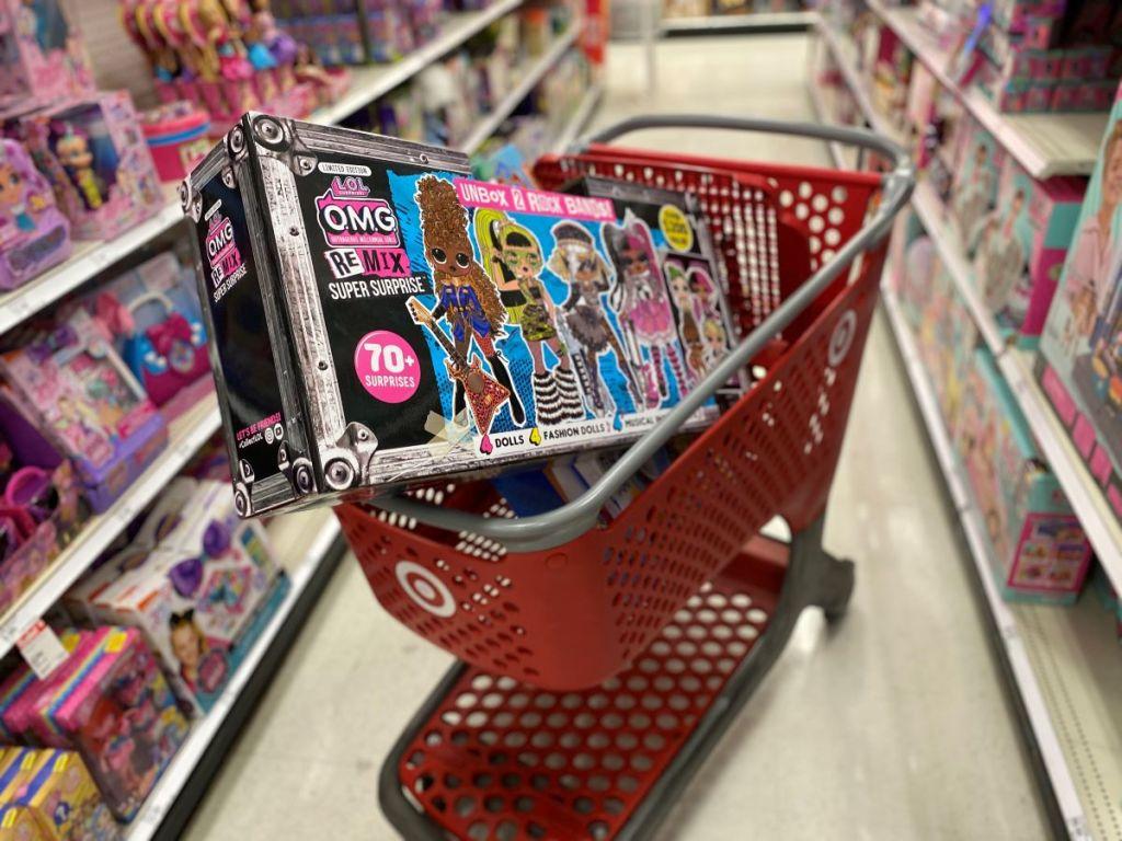 LOL Surprise Remix Super Surprise di Target cart