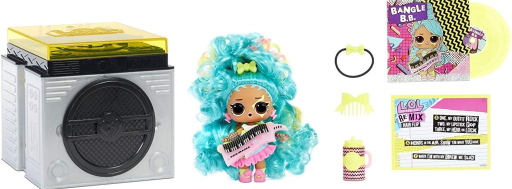 LOL Surprise Remix doll and accessories