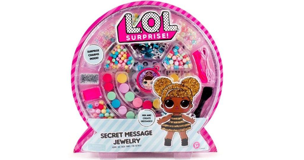 LOL Surprise Secret Message Jewelry making kit