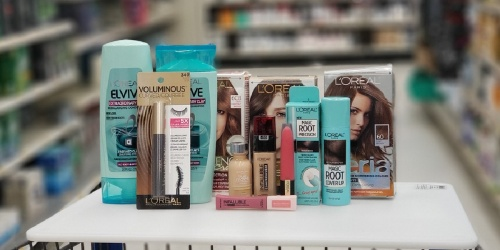 $10 Worth of L'Oreal Coupons = Up to 60% Off Cosmetics & Hair Care at Walgreens