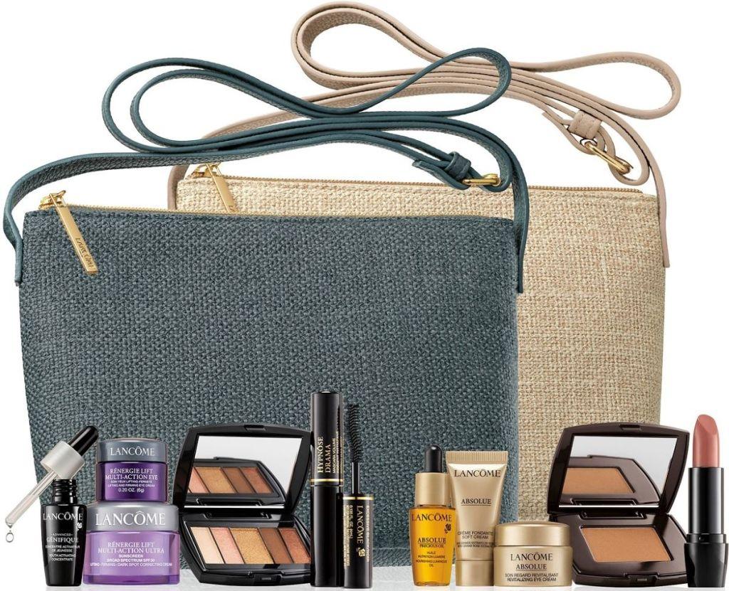 Lancome Beauty Set and Bags