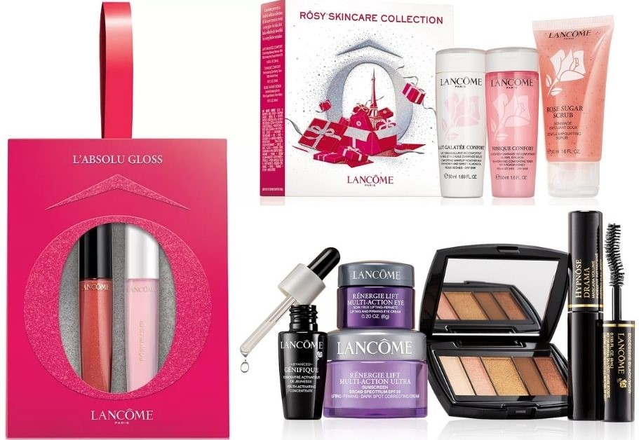 Lancome cosmetics and beauty products