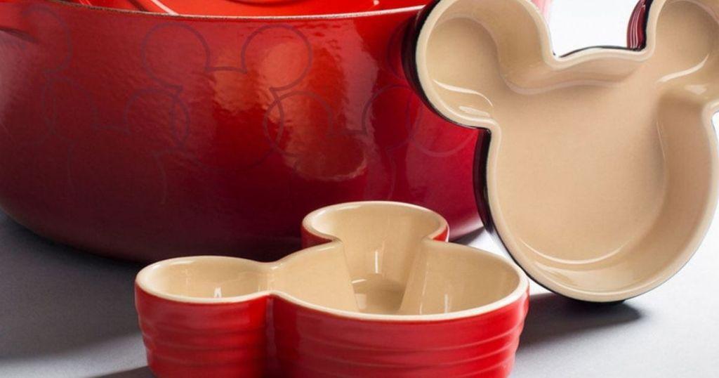 Le Creuset Mickey Mouse ramekins