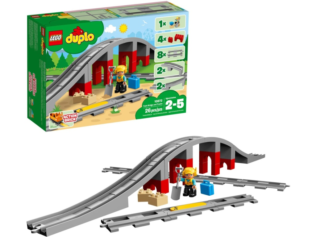 Lego Duplo Train and Tracks Set