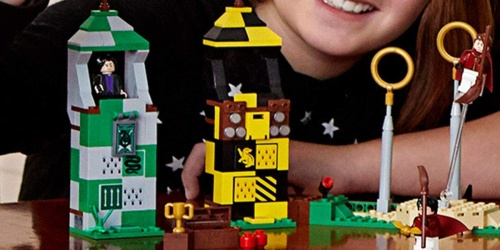 LEGO Harry Potter Quidditch Match Set Only $23.99 on Target.com (Regularly $40)