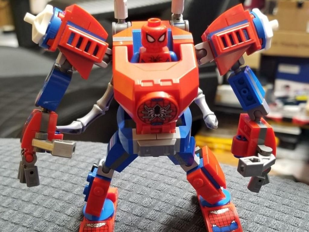 Lego Spiderman Mach