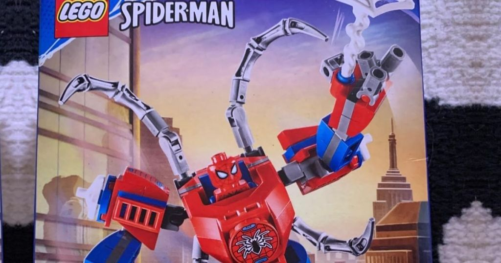 Lego Spiderman Set