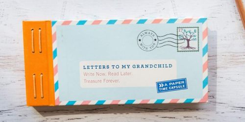 Letters to My Grandchild Set Only $6.67 on Amazon (Regularly $15)