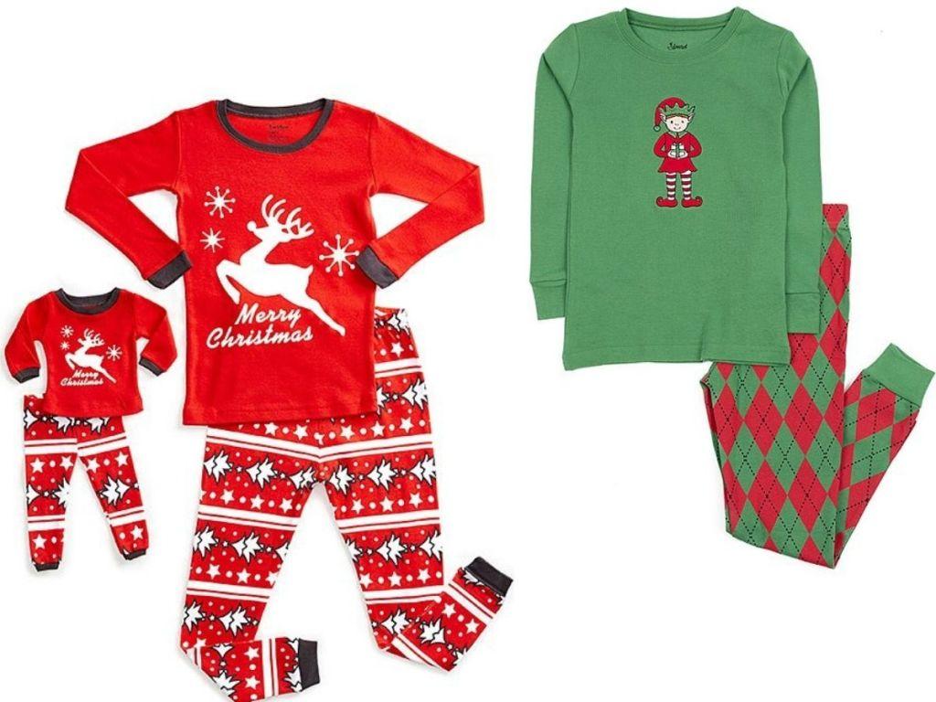 Two pairs of kids pajamas