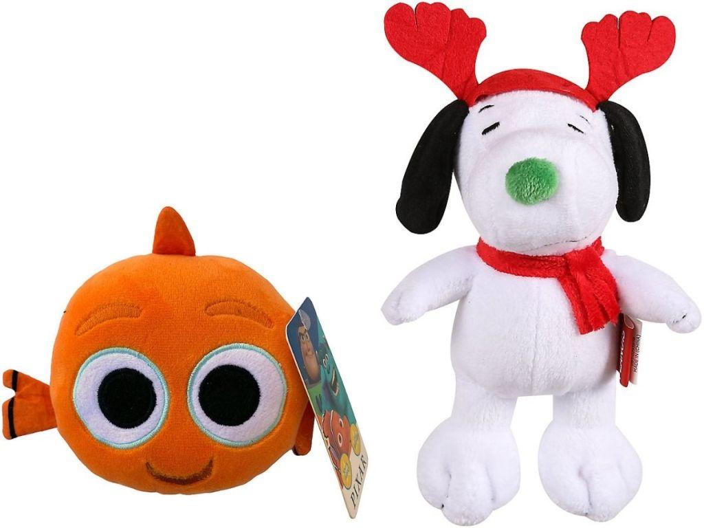 Menemukan Mainan Anjing Nemo dan Snoopy Plush