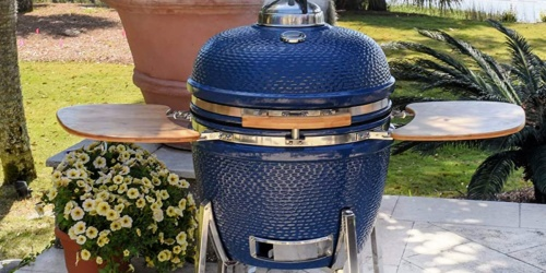 $400 Off Kamado Grill & Smoker + Free Shipping on HomeDepot.com
