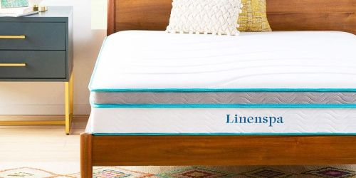 Linenspa 10-Inch Hybrid Mattresses from $111.99 Shipped on Amazon (Regularly $160+) | Highly Rated