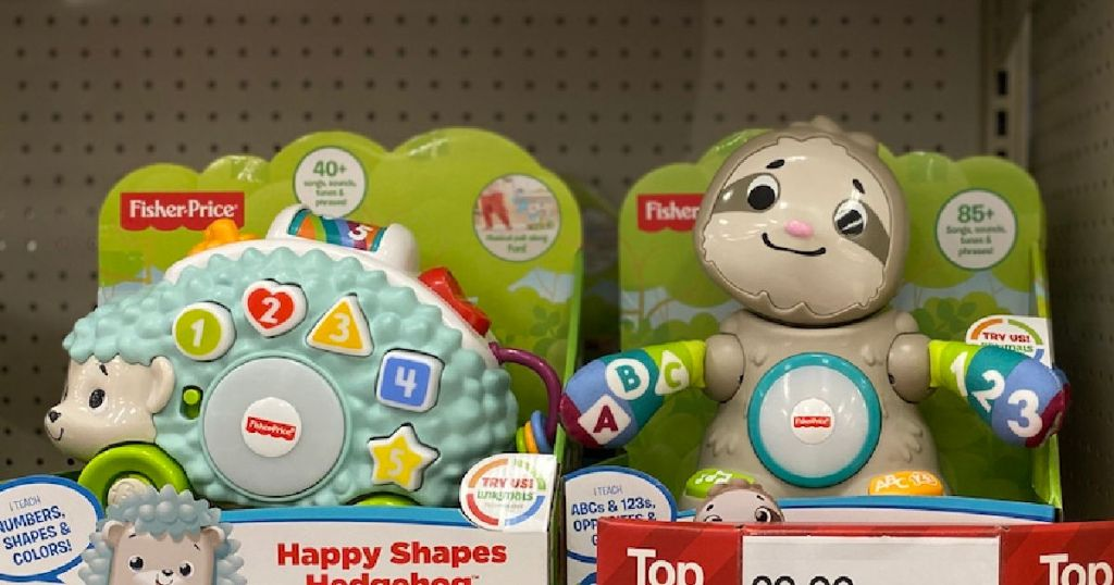 linkimal toys on shelf