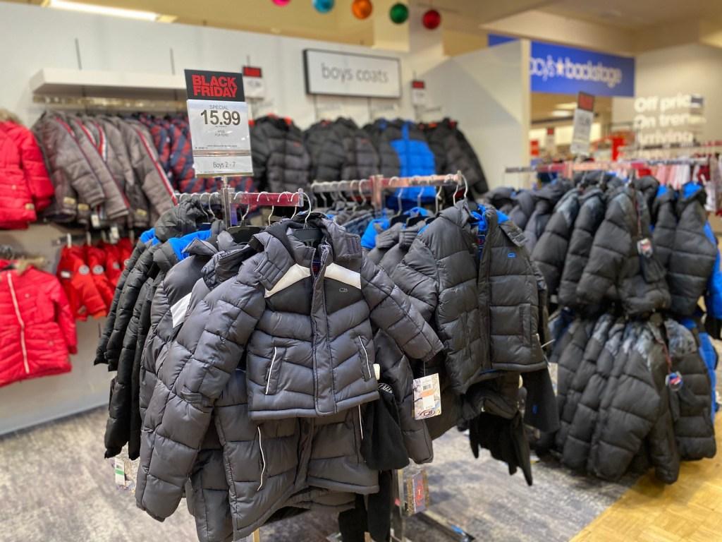Little Boy Puffer Coats