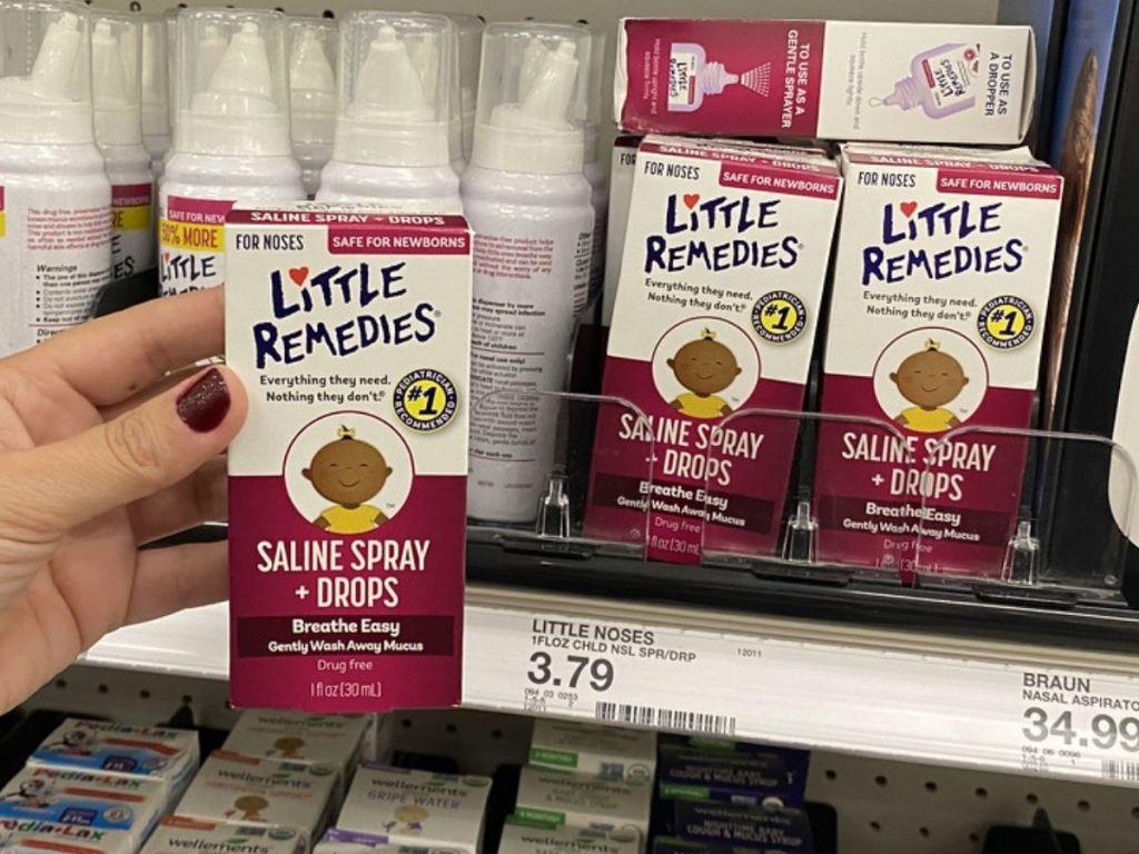 Little Remedies Saline Drops