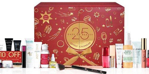 Macy's 25 Days Of Beauty Advent Calendar Just $49.50 Shipped ($434 Value!) | Includes $10 Beauty Coupon
