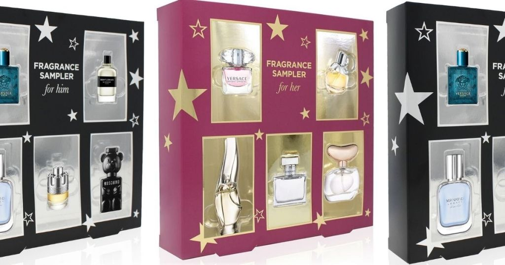 Macy's Fragrance Sampler boxes