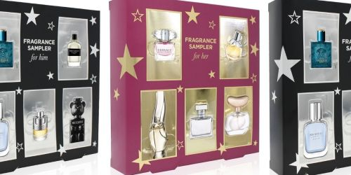 Fragrance Sampler 5-Piece Gift Sets Only $15 on Macys.com (Regularly $35)