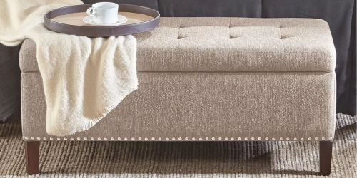 Tufted Storage Ottoman Just $79.99 Shipped on Kohls.com (Regularly $260) | Up to 80% Off Furniture!