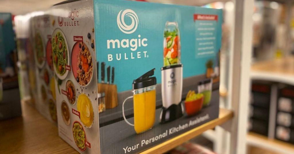 Magic Bullet Blender at store on shelf