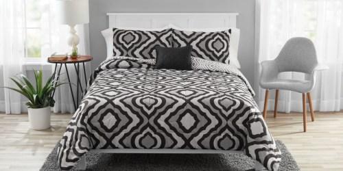 Mainstays 8-Piece Comforter Set w/ Bonus Quilt Sets Only $35 at Walmart