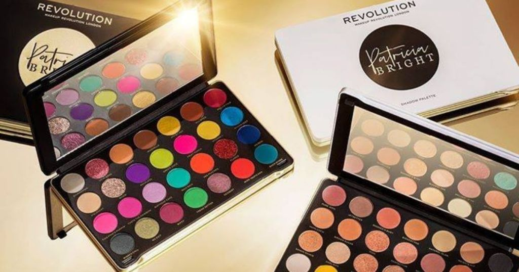 Makeup Revolution Patricia Bright Palettes