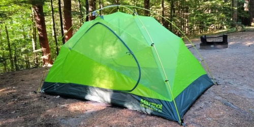 Marmot 2-Person Tent Only $98 Shipped on Amazon (Regularly $180) | Great for Backpacking & Camping