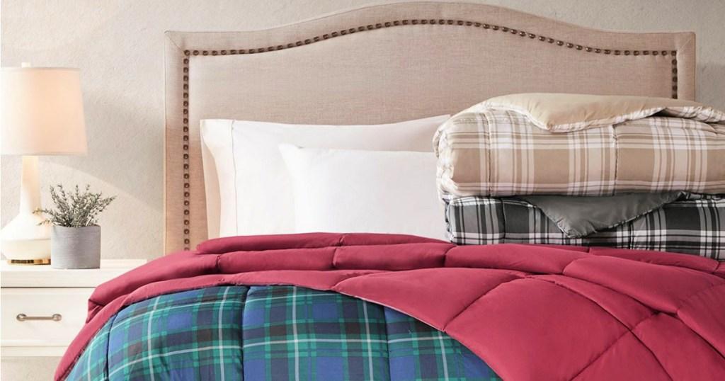 Martha Stewart Essentials Reversible Down Alternative Comforters