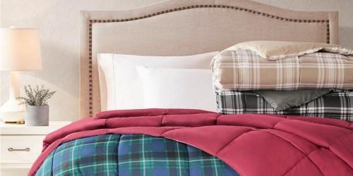Martha Stewart Reversible Down Alternative Comforter ANY SIZE Only $19.99 on Macy's.com (Regularly $110)
