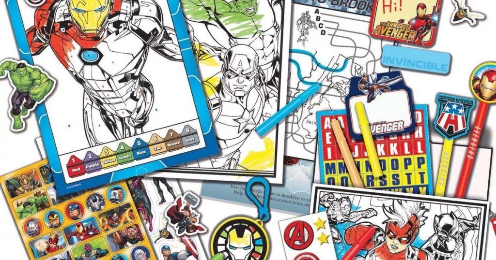 Marvel Avenger Craft Kit Materials