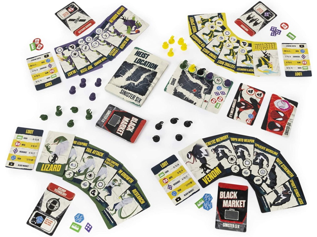 Marvel Sinister Six Card Game